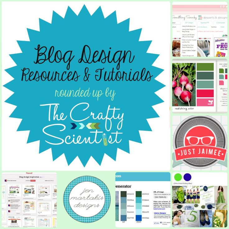 The Crafty Scientist: Blog Design Resources