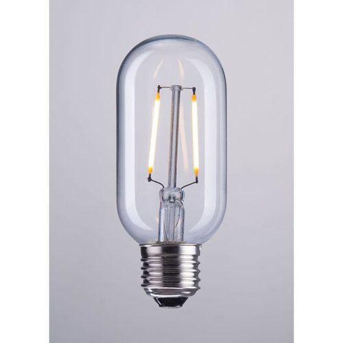 Zuo E26 Bulb T45 2w Led 110x45mm Clear Clear Light Bulbs