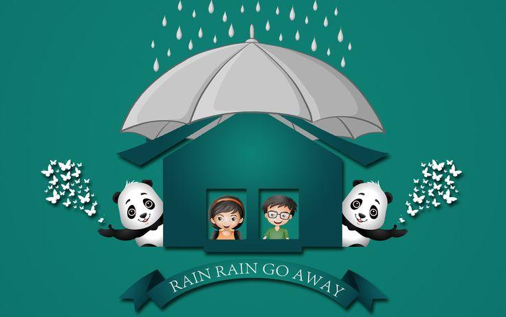 Chennai Floods Rain Rain Go Away   Nursery Rhyme with Lyrics   Poem   Vi...