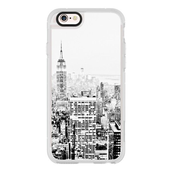 iPhone 6 Plus/6/5/5s/5c Case - BLACK AND WHITE CITY GRAPHIC OFFICE... ($40) ❤ liked on Polyvore featuring men's fashion, men's accessories, men's tech accessories, iphone case and mens wallet iphone case