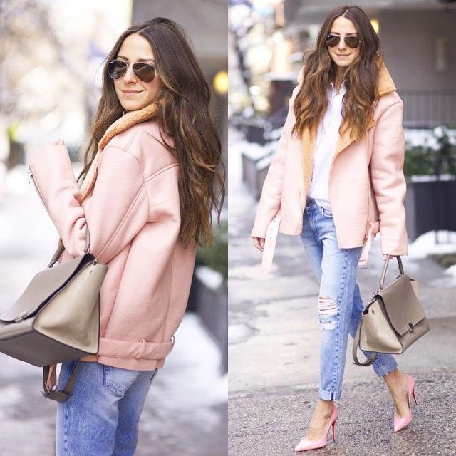 What To Wear With Pink Coat - JacketIn