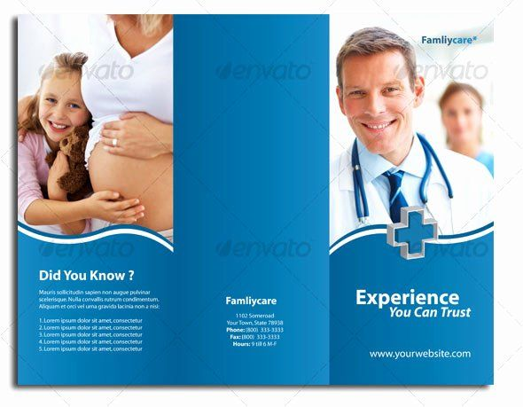 Medical Brochure Templates Free Download Fresh 12 Free Premium Medical Brochure Templates Desig In 2020 Medical Brochure Medical Health Care Free Brochure Template