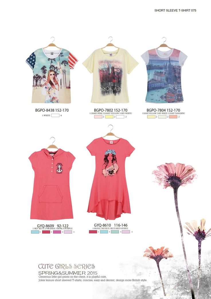 Graphics tees are easy choices and fashionable ones, too  #glostory #fashion #forgirls #ss15 #cute #clothing #fashion #dress #tshirt #printedtshirt #girl