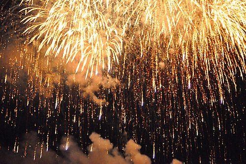 Картинка с тегом «fireworks, light, and night»