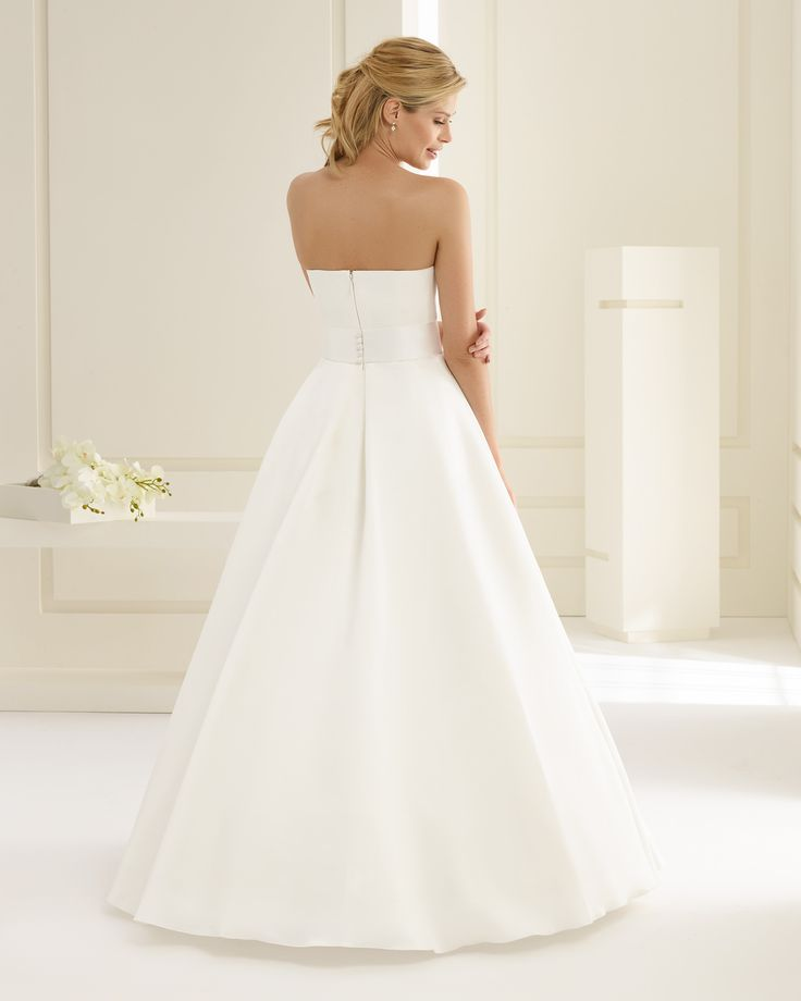 Brautkleid, Hochzeitskleid, A-Linie, Bianco Evento, Lilya ...