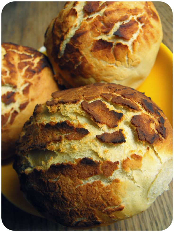 Tiger Bread - simple recipe, fairly quick for a homemade bread. Crusty outside, tender inside.