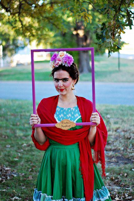 frida kahlo halloween costume blog pinterest halloween costumes halloween and very clever. Black Bedroom Furniture Sets. Home Design Ideas