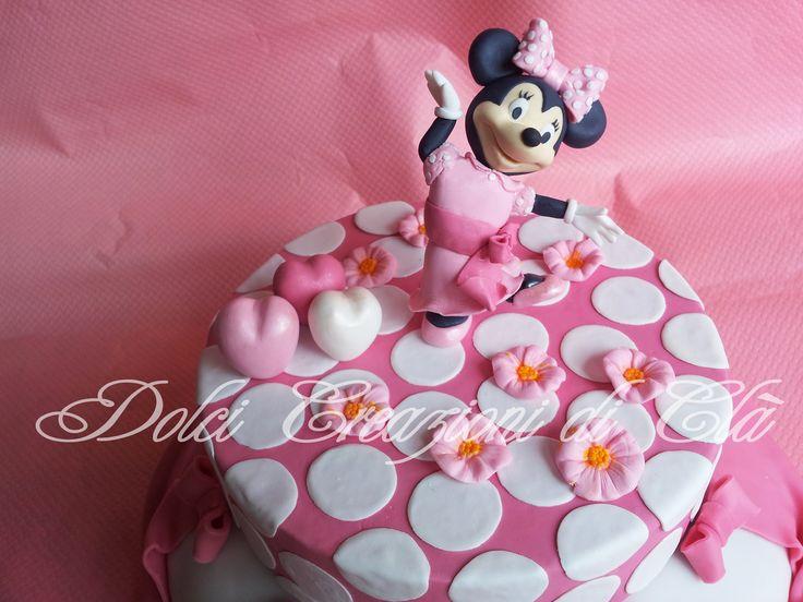 Particolare Torta Minnie