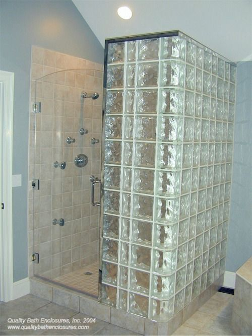 16 Best Images About Bathroom Ideas On Pinterest Glass Design Glass Block Shower And Ideas