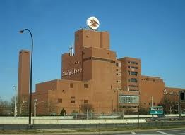 Budweiser brewery in Newark,NJ