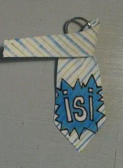 Anna idean kiertää!: Kravatti -avaimenperä
