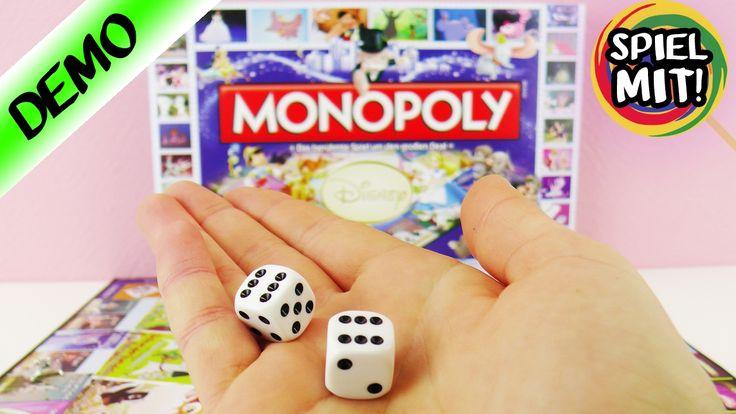 DISNEY MONOPOLY Spiel deutsch   WER MACHT DAS GROSSE GELD?