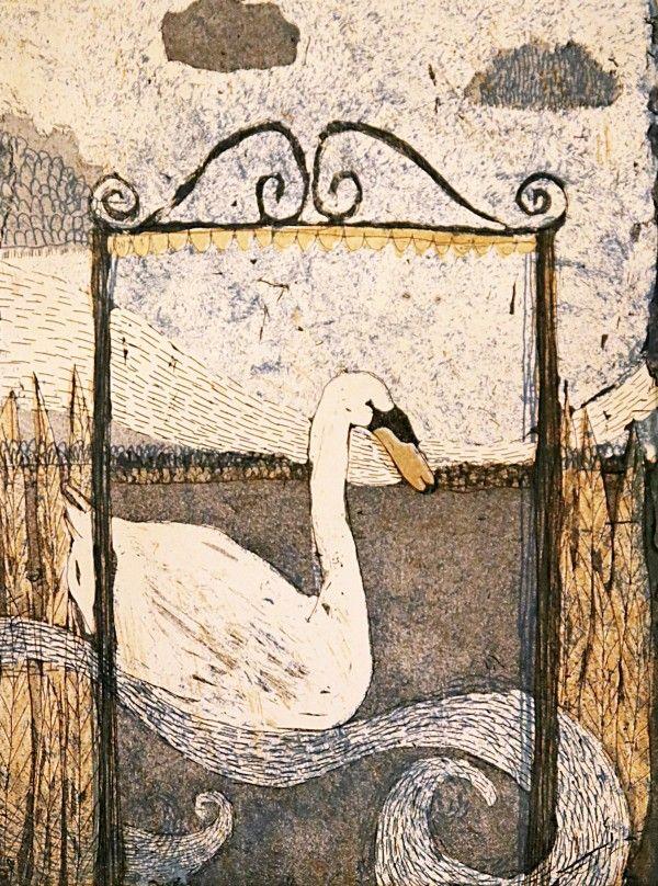 Joutsen, The swan, Mirka Johansson