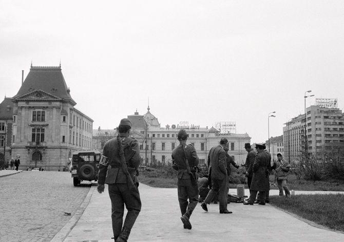 Arne Lind's day in Bucharest – 1974: GUN
