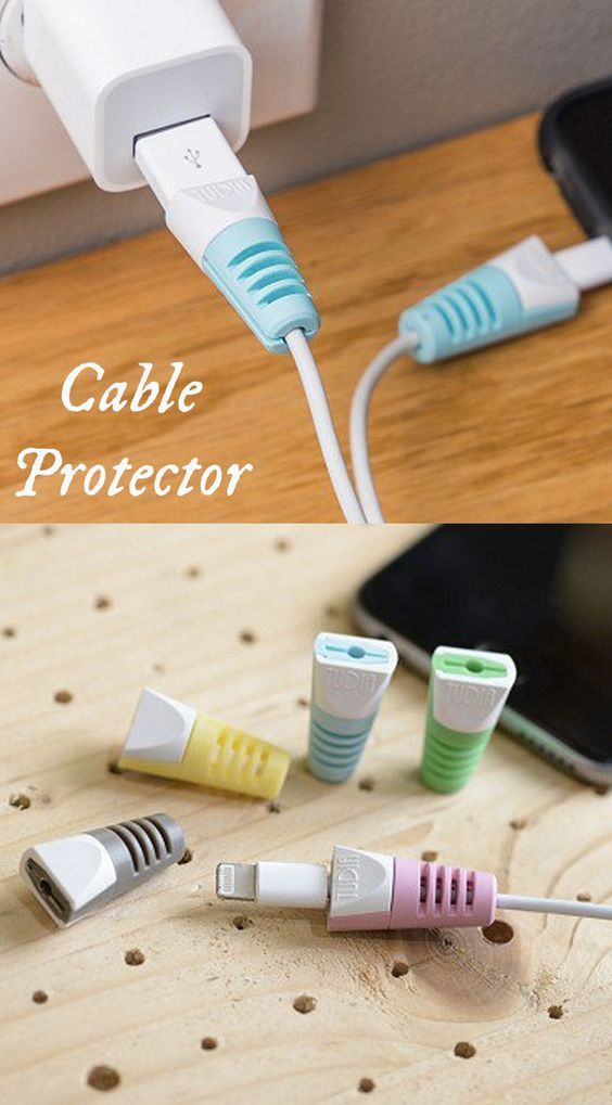 Charging Cable Saver Protector for Apple Lightning and 30-Pin charging cables for iPod / iPhone / iPad / Apple Watch (10 Pcs Combo)