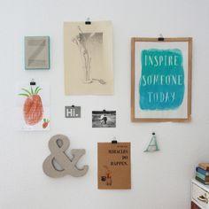 Riesige Buchstaben aus Pappe & Klorollen [UPCYCLING DIY]
