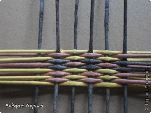 Плетение Получилось   Бумага газетная Трубочки бумажные фото 1