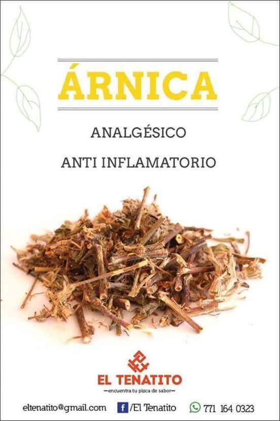 Plantas medicinales - Àrnica