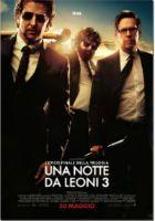 Una delle trilogie più belle e divertenti del cinema anche secondo Antonia Postorivo. Una Notte da Leoni 3 uscirà a brave anche in Italia. Sicuramente film da non perdere!