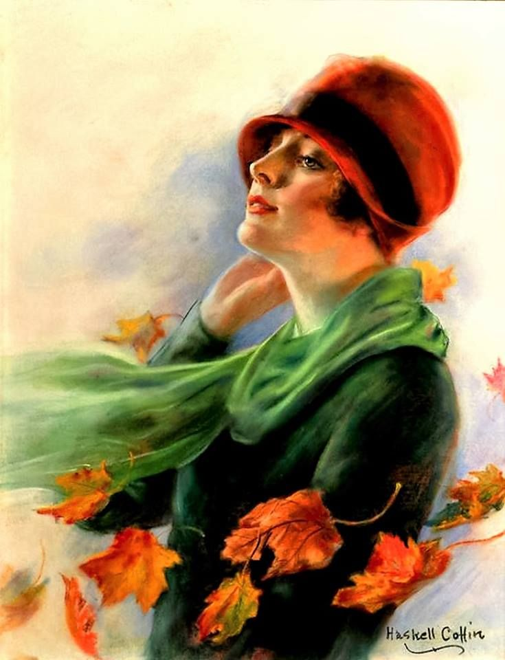 Art for Saturday Evening Post November 5, 1927 Haskell Coffin