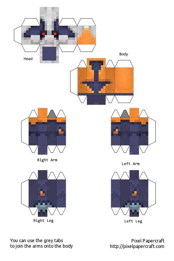 53 Best Minecraft Papercraft Images On Pinterest
