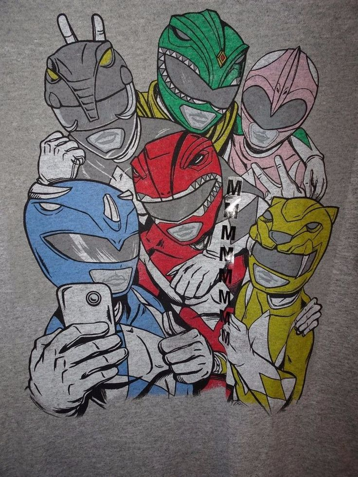 SALE Check out Menscave7 Follow seller Authentic Mighty Morphin Power Rangers T Shirt  #PowerRangers #cartoons #cartoonshirts #GraphicTee