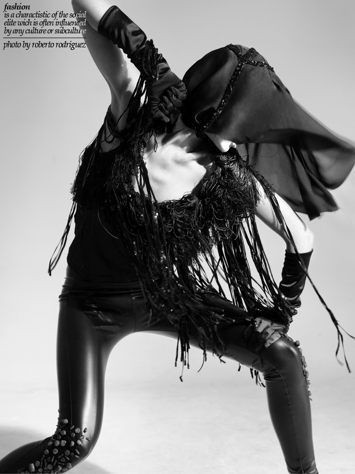 Photo: Roberto Rodriguez  Make-Up: Sarra Feriani  Clothes designed: Karolina Piech Model: Agnieszka Kulina  Concept & Hair: Ludovic Beckers.