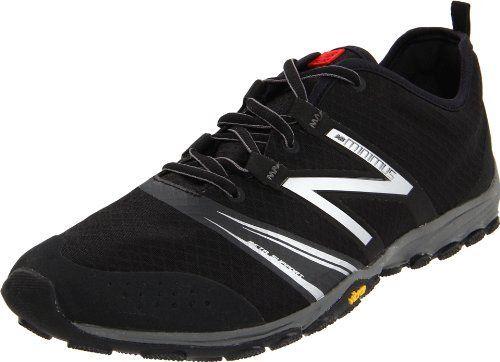 New Balance Men\u0027s MT20v2 Minimus Trail-Running Shoe,Black/Silver,7 D