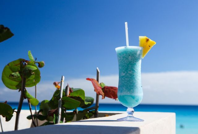 A recipe for the original Blue Hawaii Cocktail as invented by Harry Yee at the Hilton Hawaiian Village.