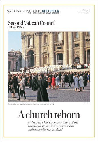 A Church Reborn: The 50th Anniversary of the Second Vatican Council by National Catholic Reporter. $9.99. 196 pages. Publisher: National Catholic Reporter Publishing Company (September 23, 2012)