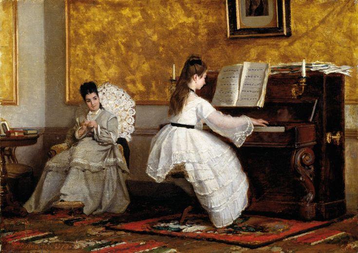 Vito d'Ancona - Le lezione di pianoforte
