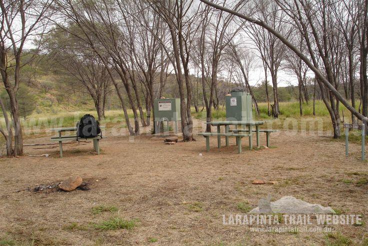 Mulga Camp at Section 2, Larapinta Trail. A nice half way camp and/or rest spot. © Explorers Australia Pty Ltd 2013