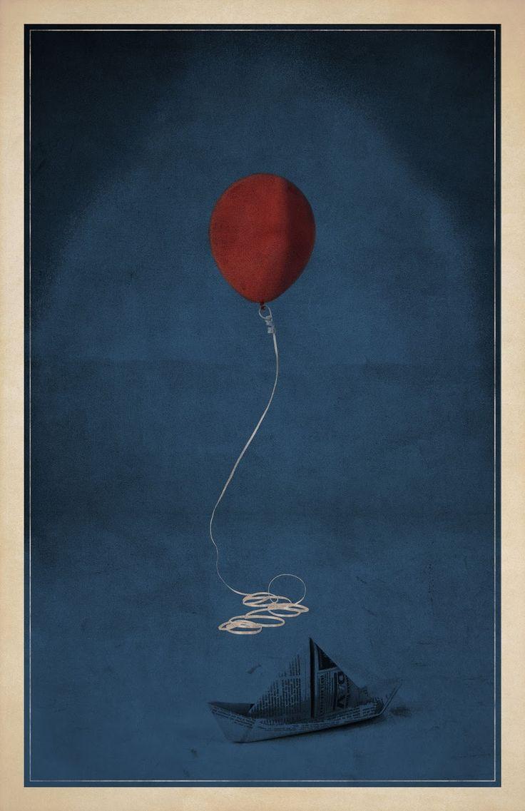 It - 10 Posters minimalistas de filmes de terror   Blog 365 Filmes