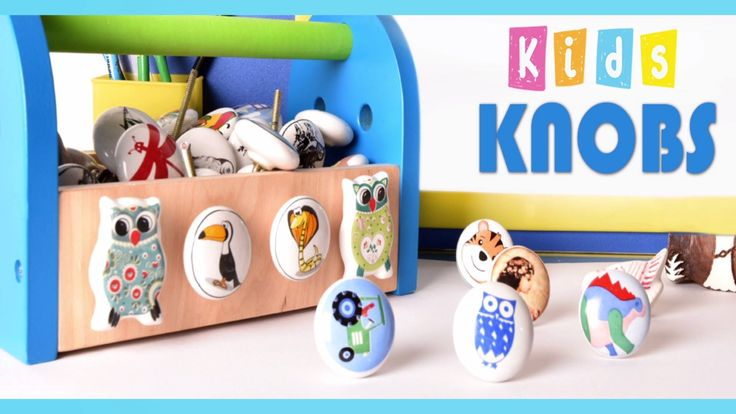 Wonderful Kids Room Drawer Knobs - Multiple Pattern Knobs Available on Our Exclusive online Store -  https://goo.gl/cIdcNn