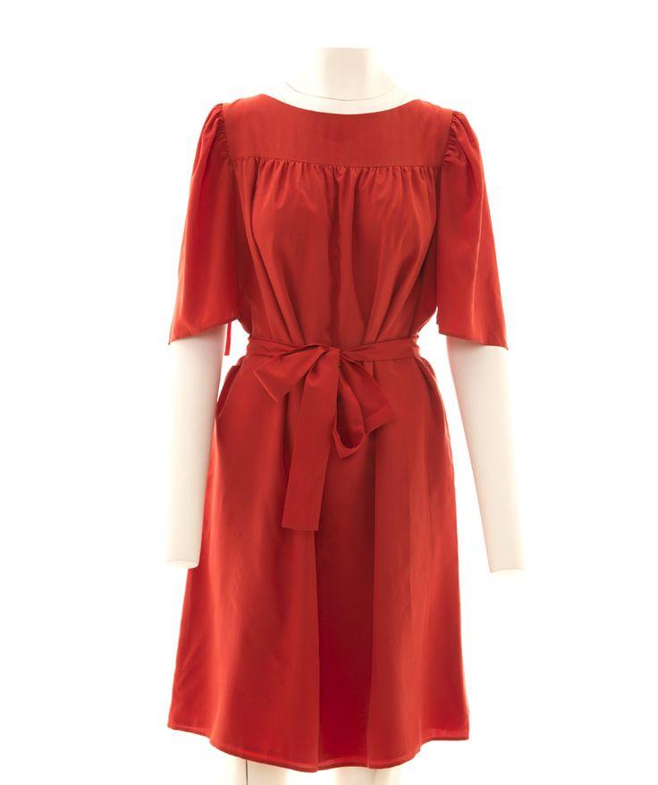 Yves Saint Laurent Vintage Red Dress