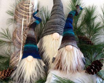 Decoración escandinava Navidad Gnome Tomte por DaVinciDollDesigns