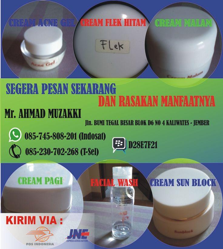Kosmetik, Cream Perawatan Kulit, Cream Pembersih Wajah, Cream Penghilang Jerawat, Cream Perawatan Wajah, Vitamin Kulit Alami, Vitamin Wajah Alami, Cream Menghilangkan Flek Hitam.