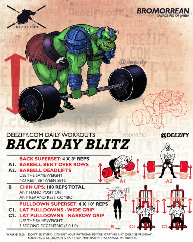 wod 2016 back day blitz - star wars