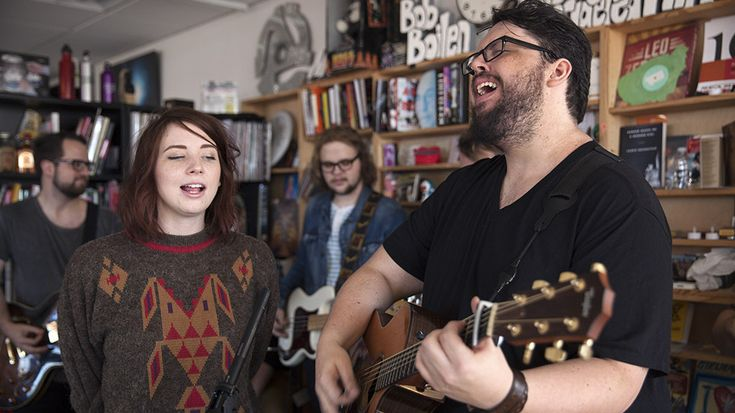 The Oh Hellos: The nine-piece band brings anthemic joy to the Tiny Desk, with buoyant songs whose underpinnings could still be dark and lonely.