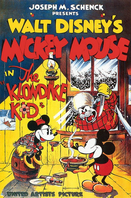 Vintage Movie Poster Fridge Magnet  Disney Mickey by Vividiom, $3.00