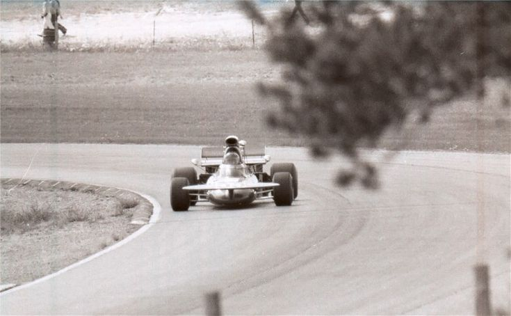 Rare photo of Skip Barber driving a March 711 at the 1971 Canadian Grand Prix