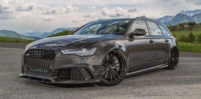 Pampersbomber from Hell: Gepfefferter Voll-Carbon Audi RS6 4G als flotte Familienkutsche - Auto der Woche - VAU-MAX - Das kostenlose Performance-Magazin