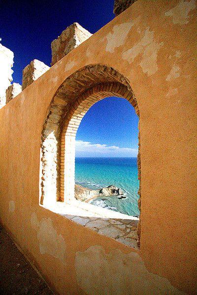 Castello di Palma di Montechiaro, Sicily, Italy. 37°11′37″N 13°45′57″E