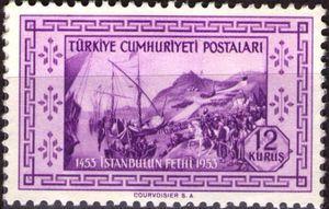 Landing of Turkish Army