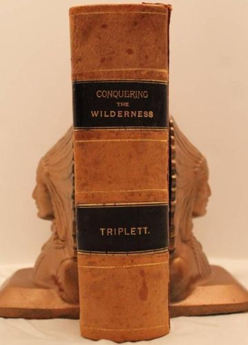 RARE 1885 Conquering The Wilderness Indian Massacres Daniel Boone Buffalo Bill | eBay