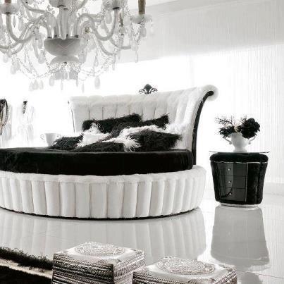 Cique zwart/wit slaapkamer  Slaapkamer  Pinterest