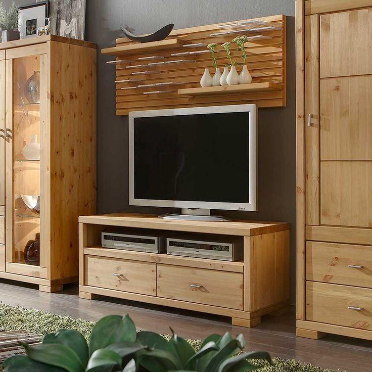 the 25+ best lowboard massivholz ideas on pinterest | tv lowboard, Wohnzimmer dekoo