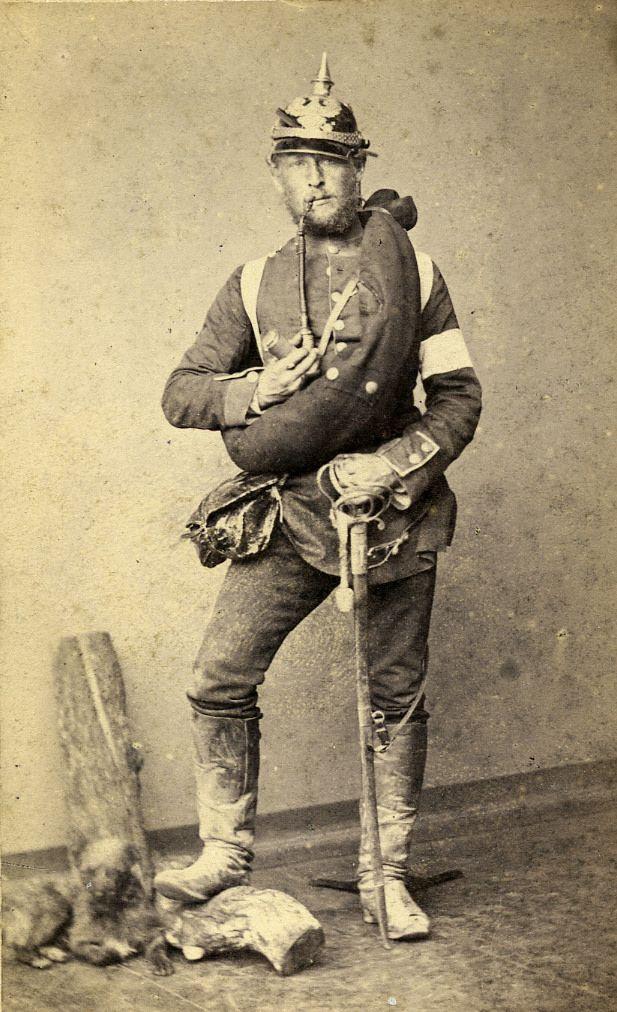 https://flic.kr/p/pF4JAs | Soldat fra 1864 2 | Ukendt preussisk soldat fra 1864-krigen/ Unknown Prussian Soldier from Second Schleswig War in 1864