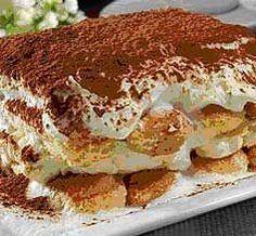 """Rychlé a výborné """"Tiramisu"""" z pomazánkového másla: Nejprve si připravíme silnou kávu,aby jsme ji měli vychlazenou na namáčení piškotů po zpracování vše..."""