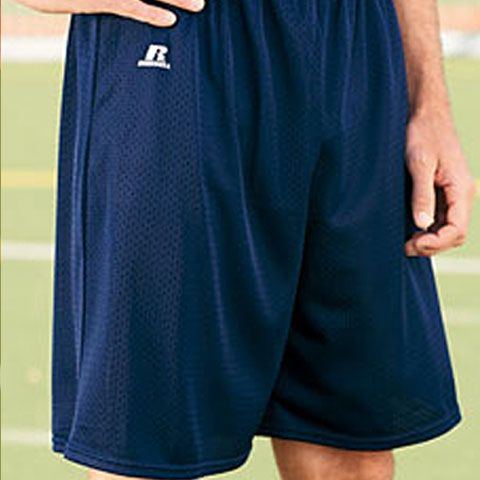 Huge stock of fitness clothings with Russell 659AFM Athletic Nylon Tricot Mesh Short